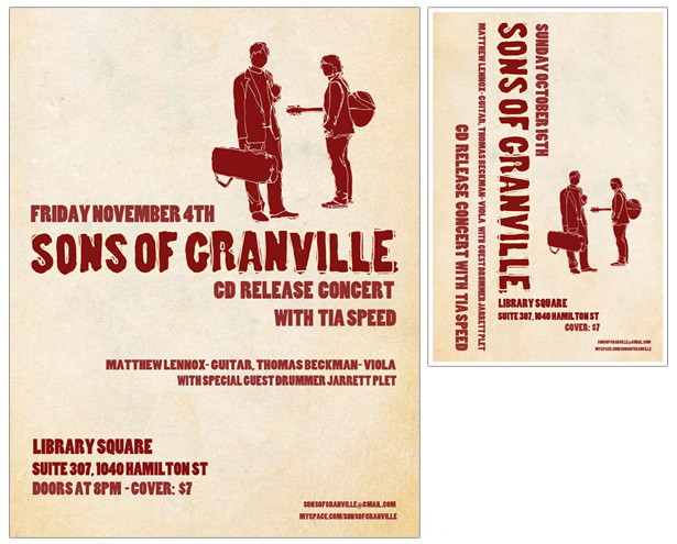 Sons of Granville - Promo Poster